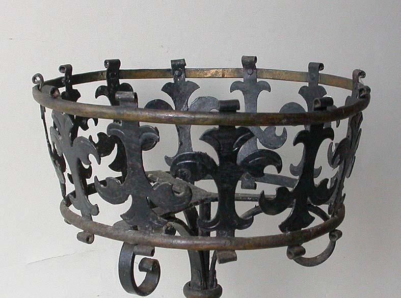 blumenst nder blumenhalter st nder k rbchen blumenkorb metallst nder gr nderzeit ebay. Black Bedroom Furniture Sets. Home Design Ideas