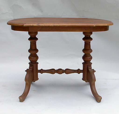 Eleganter antiker tisch salontisch wohnzimmertisch for Wohnzimmertisch jugendstil